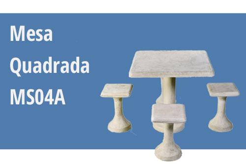 mesa jardim concreto : mesa jardim concreto:Mesa de Concreto Para Jardim